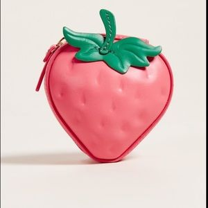 Kate Spade Strawberry coin purse!